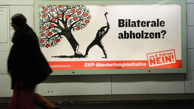 """Baden-Württembergs Europaminister Peter Friedrich: """"Ich würde es sehr bedauern, wenn diese Initiative eine Mehrheit finden würde, denn sie berührt natürlich das Verhältnis der Schweiz zu Europa"""""""