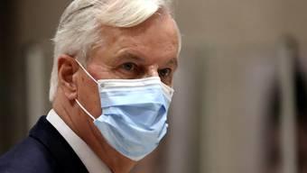 Michel Barnier, Chefunterhändler der Europäischen Union für den Brexit. Foto: Yves Herman/Reuters Pool/AP/dpa
