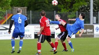 Der Fussball-Match Rothrist gegen Lenzburg in Bildern
