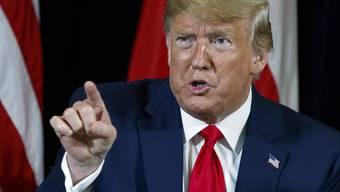 Vielleicht teilt er bald nicht mehr so aus: Donald Trump gerät immer mehr in Bedrängnis.