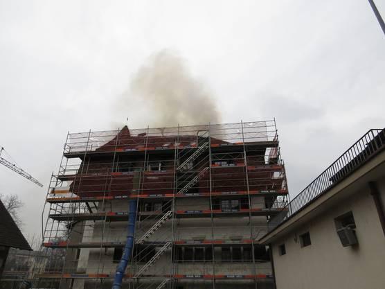 Das Gebäude wird zur Zeit renoviert.