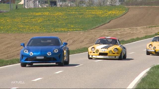 Schweizer Premiere: Renault Alpine nach 22 Jahren zurück