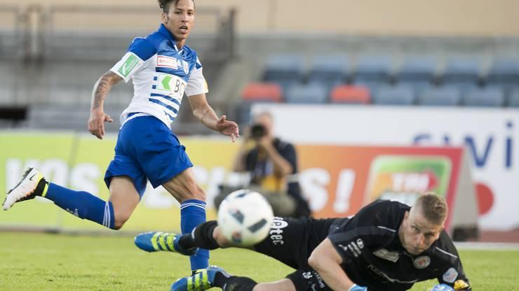 Beim FC Winterthur kommt Von Ballmoos zu Spielpraxis.