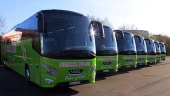Fernverkehr-Konkurrent der SBB: MeinFernbus.