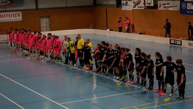 Die NLB-Frauen von Unihockey Basel Regio.