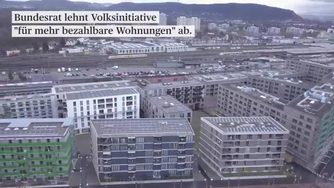 """Bundesrat lehnt Initiative """"für mehr bezahlbare Wohnungen"""" ab"""
