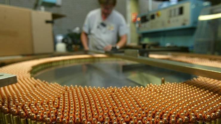 Die Ruag gilt als grösster Munitionshersteller in Europa. (Symbolbild)