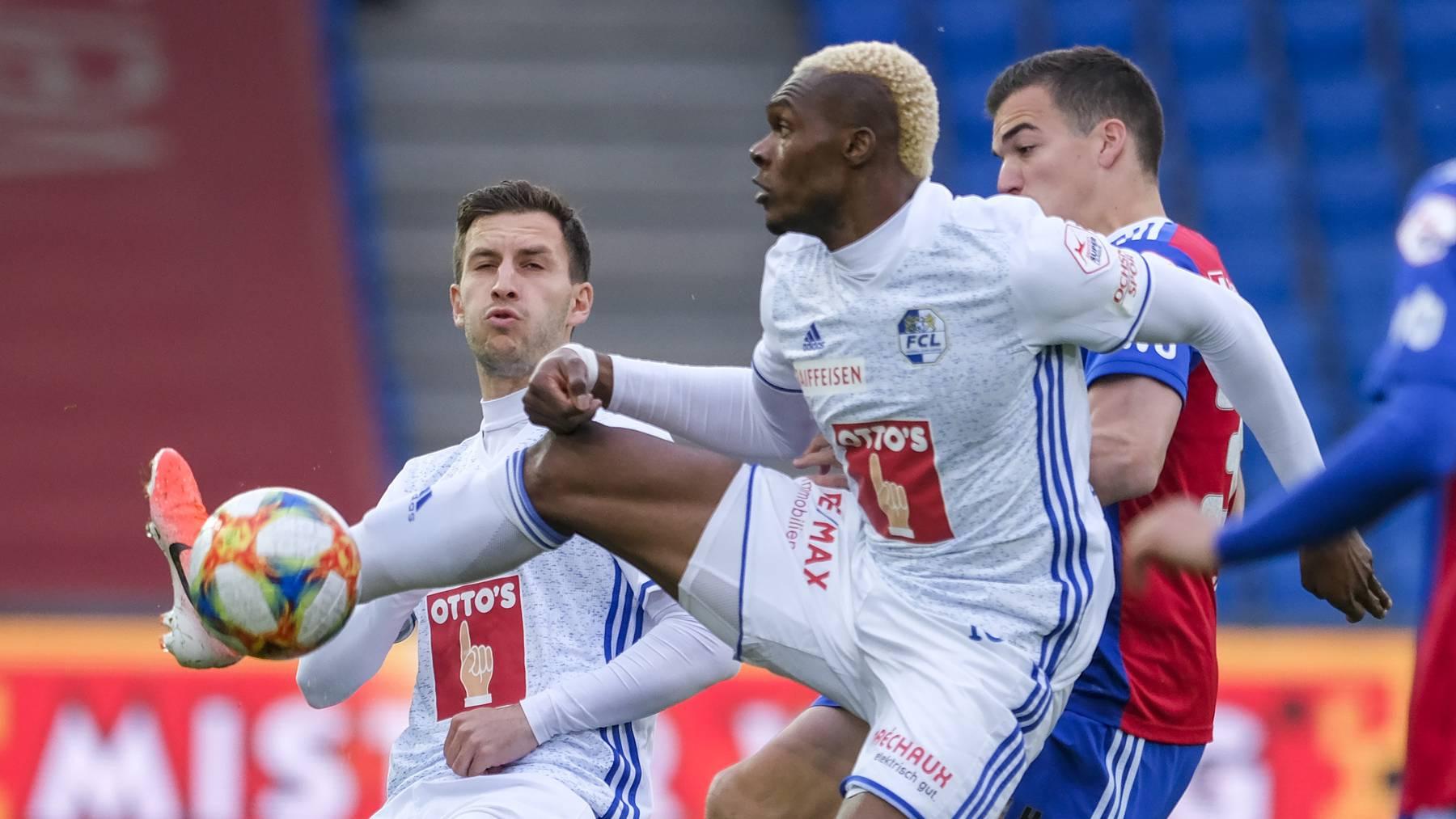 FC Luzern unterliegt Basel 2:3