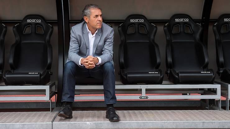 FCB-Coach Marcel Koller gibt das Unentschieden im Tessin zu denken