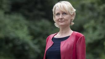 Kandidatin Isabelle Moret.