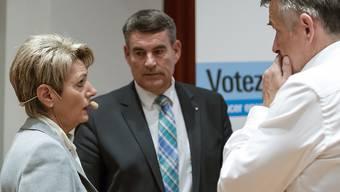 Alle drei FDP-Bundesratskandidaten sind einen Schritt weiter. (Archivbild)