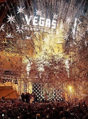 Neues Sportgefühl in Las Vegas: Stanley-Cup-Final mit den Golden Knights (links) und Erfolge im Football.