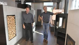 Markus Odermatt (rechts) hat seinen Betrieb an seinen langjährigen Mitarbeiter Rolf Bucher verkauft, mit 62 eine frühzeitige Nachfolgeregelung.