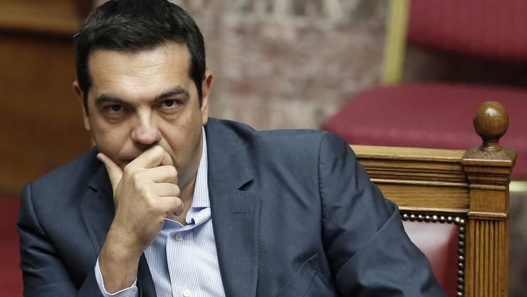 Konnte sich durchsetzen: Griechenlands Premier Alexis Tsipras.