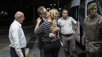 Gürsel bei seiner Freilassung aus der Untersuchungshaft im September 2017. (Archivbild)