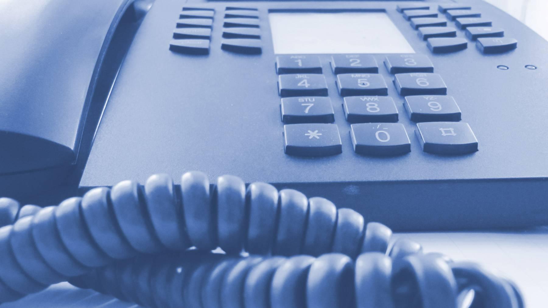 Vorsicht vor Telefonbetrügern