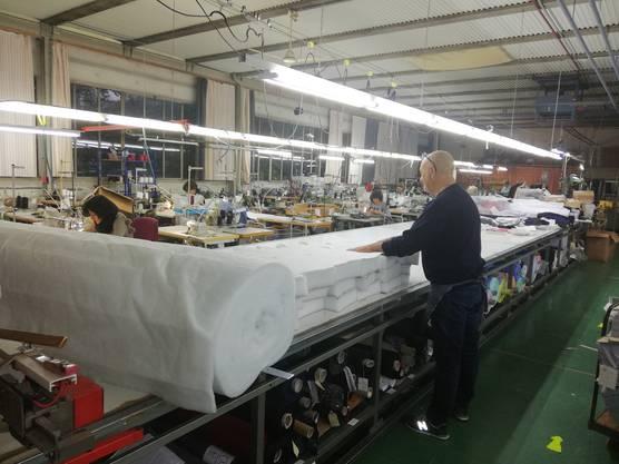 Einblick in die Produktionsstätte.