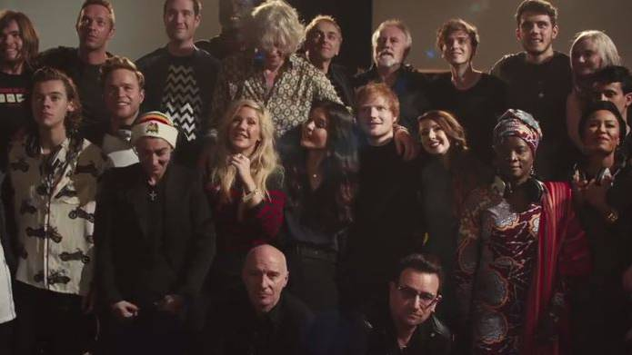 «Band Aid 30» stürmt die Charts