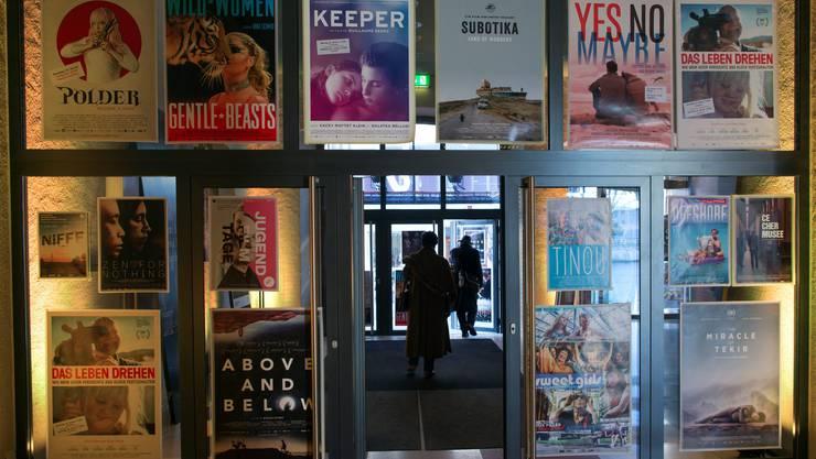 Im Landhaus werden die 51. Solothurner Filmtage eröffnet.