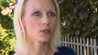 """Das Interview mit Lilian Studer im Beitrag von """"Tele M1""""."""