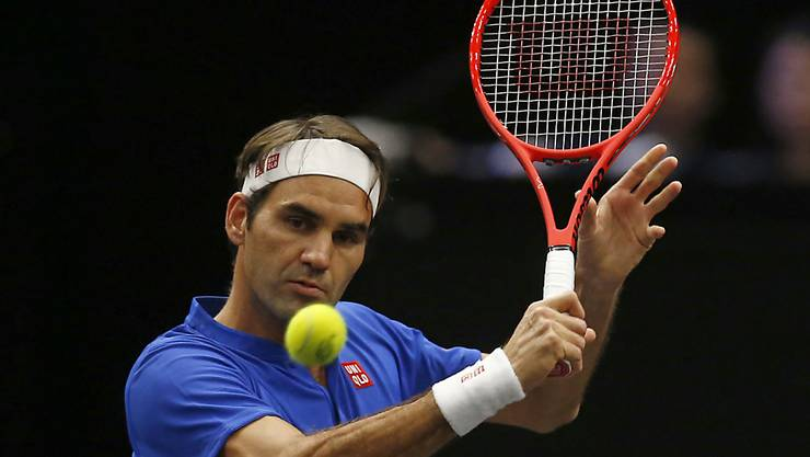 Roger Federer, hier am Laver Cup in Chicago, kehrt in Schanghai nach einem Monat Pause auf die ATP-Tour zurück