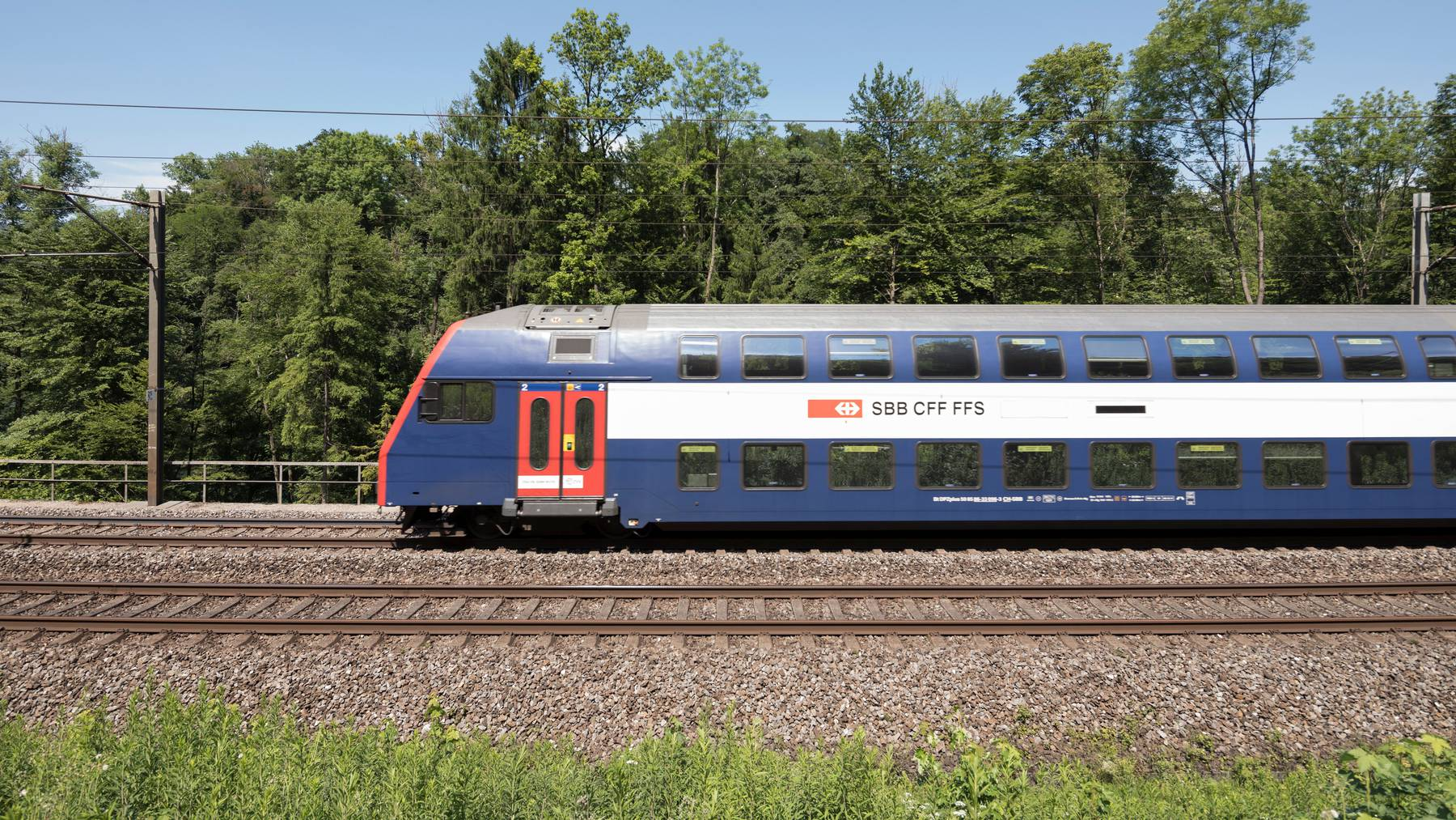 Vor der Coronapandemie ist die Verkehrsleistung der Eisenbahn 2019 stark gewachsen.