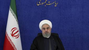 HANDOUT - Der iranische Präsident Hassan Ruhani. Foto: Uncredited/Office of the Iranian Presidency/AP/dpa - ACHTUNG: Nur zur redaktionellen Verwendung und nur mit vollständiger Nennung des vorstehenden Credits