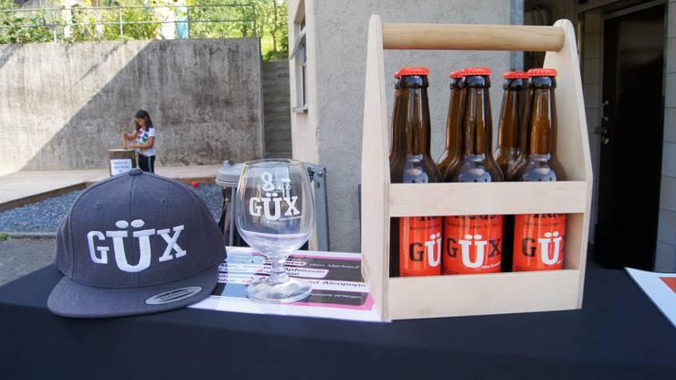 Güx-Bier gibt es in fünf Sorten.