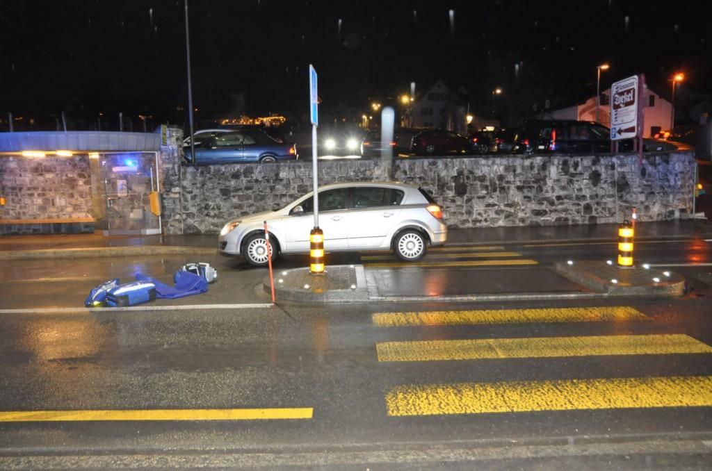 Unfall Vaduz (© Landespolizei)