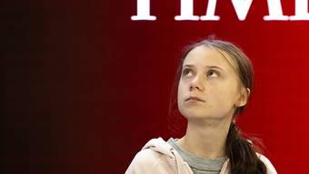 """""""Die Leute hören mir die ganze Zeit zu, doch dann passiert nichts"""", sagte die schwedische Klimaaktivistin Greta Thunberg an einem Panel am Weltwirtschaftsforum in Davos."""