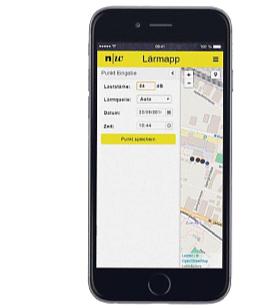 Akustische Messungen mit dem Smartphone können auf der Lärmkarteder FHNW eingetragen werden.