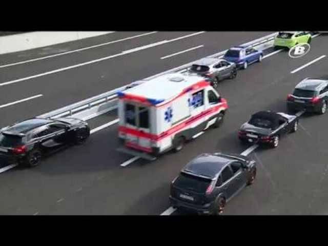 Ab Minute 6:15: Telebielingue berichtete über das Fotoshooting auf der Bieler Autobahn in der Sendung vom 17. September 2017