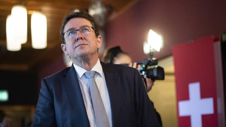 Albert Rösti ist Präsident der SVP.