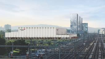 In der Swiss-Life-Arena in Altstetten wird 2022 das erste Spiel ausgetragen.