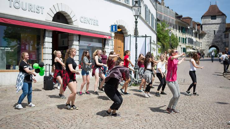 Flashmob im vergangenen Jahr