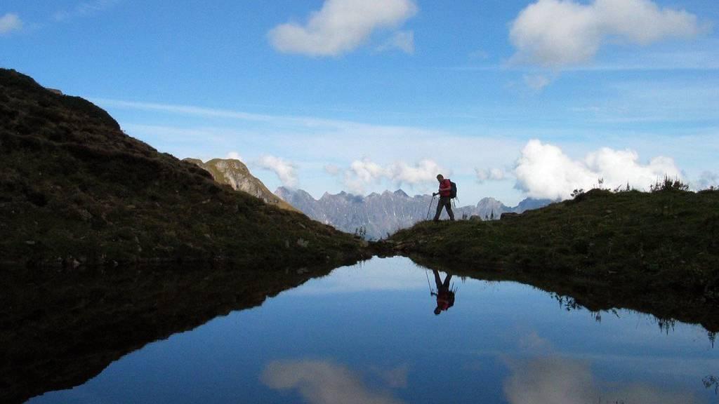 Das Wandern ist des Ostschweizers Lust.