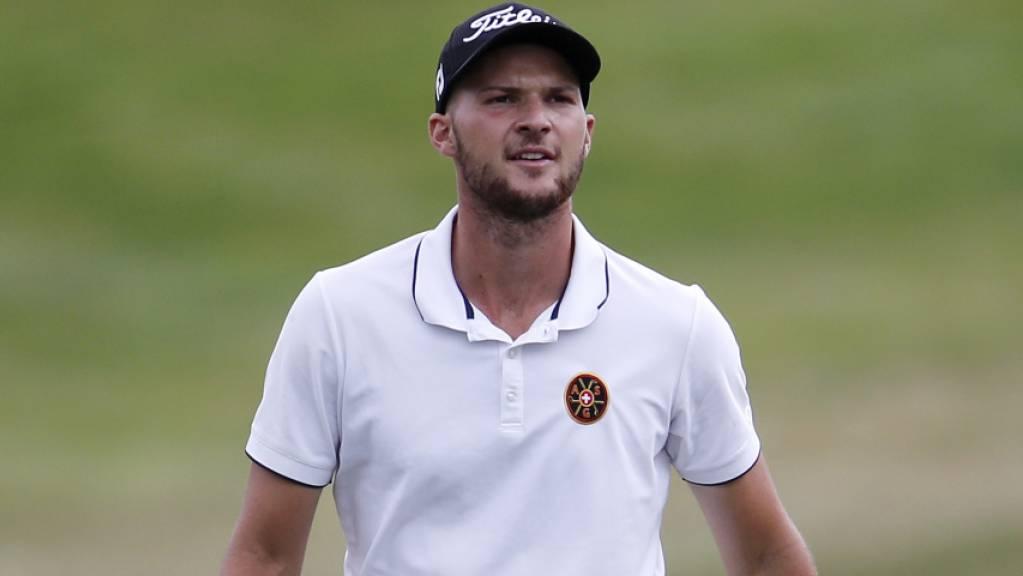 Marco Iten erreicht einen wichtigen Schritt in der Karriere als Golfprofi