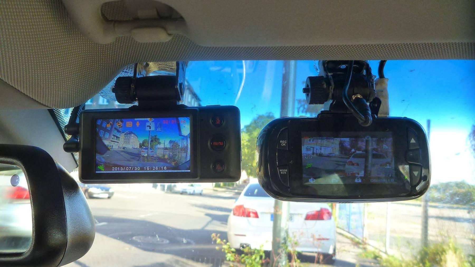 Dashcams als Beweismittel bei Unfällen