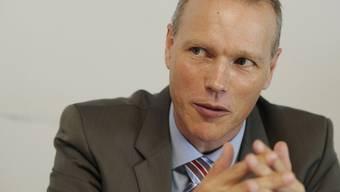 KOF-Leuter Jan-Egbert Sturm an der Medienkonferenz