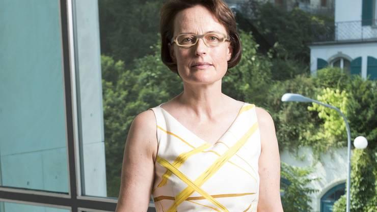 Die frühere Börsenchefin Antoinette Hunziker-Ebneter am Sitz ihrer neuen Firma in Zürich. Patrick Gutenberg