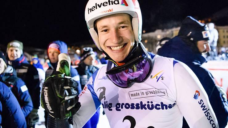 Marco Odermatt gewann in Davos seinen fünften Junioren-WM-Titel