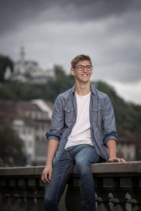 Sebastian Huber, 19. Oktober 2001, Absolvent Gymnasium, Luzern.