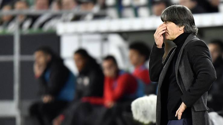Jogi Löw steht vor dem Start der EM-Qualifikation unter Druck.