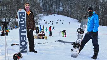 Der Skilift Asp in Densbüren ist am Wochenende offen.