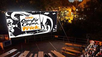 Kino unter freiem Himmel: Gut drei Wochen lang zeigt Fricks Monti im Juli die Filme open air.