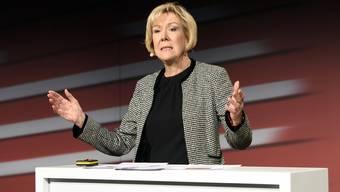SBB Verwaltungsrätspräsidentin Monika Ribar.