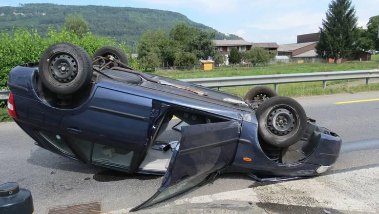 Am Auto entstand Totalschaden, der 66-jährige Fahrer blieb unverletzt.