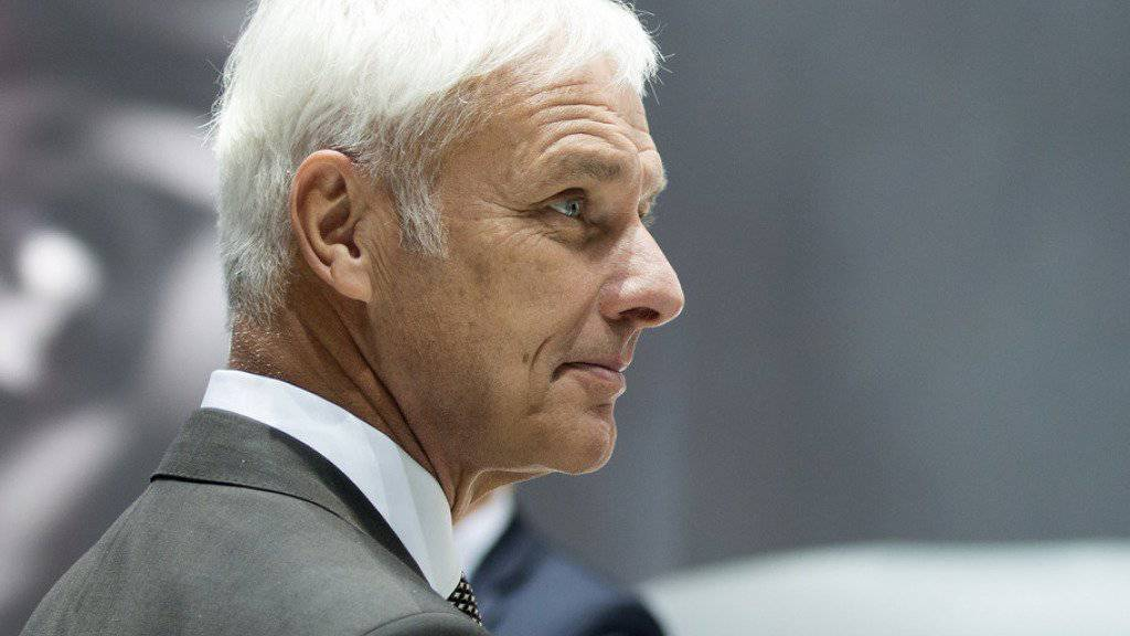 Matthias Müller: Der Konzernchef von VW soll künftig höchstens 10 Millionen Euro im Jahr verdienen. (Archiv)
