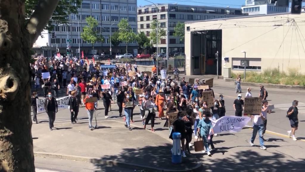 Regeln für Demonstrationen sind kaum einhaltbar