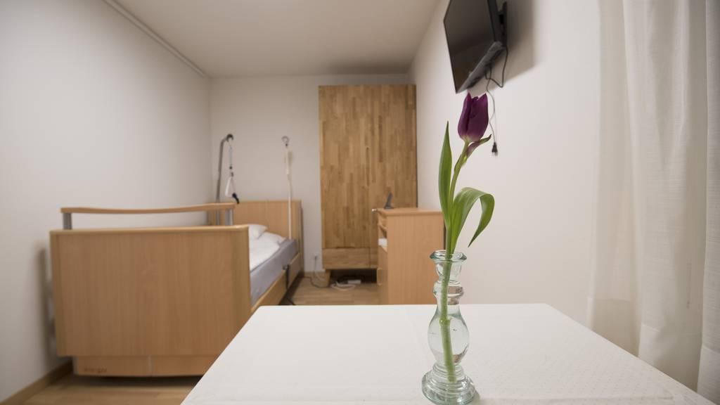 Im Hospiz St.Gallen werden Menschen auf ihrem letzten Weg begleitet.